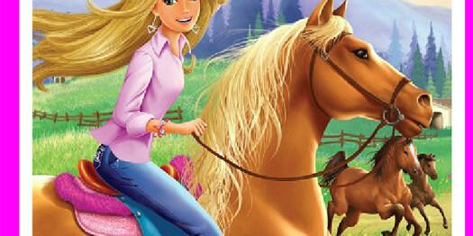Игра Барби на лошадях для девочек