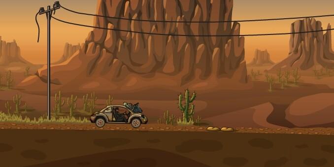 Играть игры машины против зомби 4