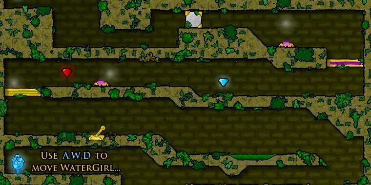 Игра Огонь и Вода 6 - играть онлайн бесплатно