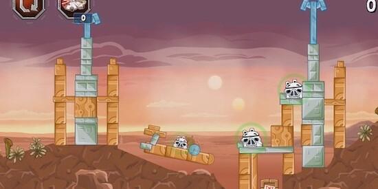 Онлайн игры бесплатно angry birds star wars