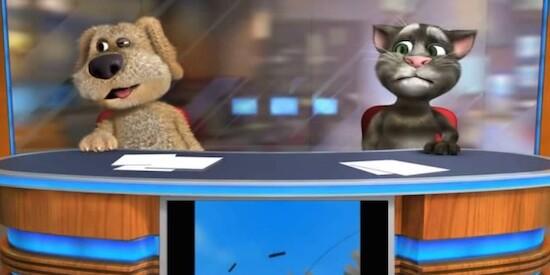 Говорящий кот том ігри