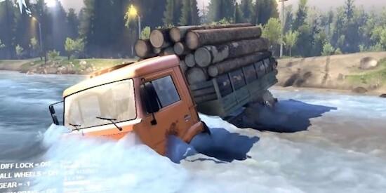 Игру Симулятор Лесовозы В Тайге