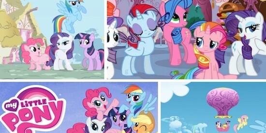 Раскраски для девочек онлайн бесплатно пони