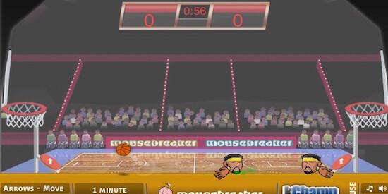Игры для мальчиков на двоих спортивные