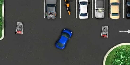 Онлайн бесплатно играть парковка машин