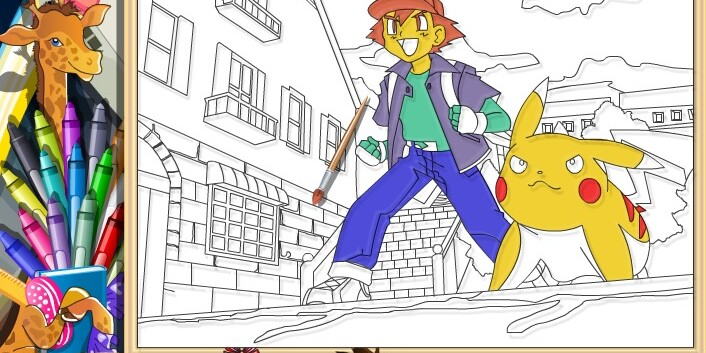 Игры Раскраски для девочек и мальчиков - играть онлайн ...