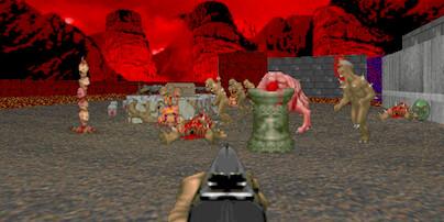 Картинка из Doom