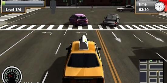 скачать игра такси