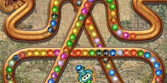 Играть онлайн бесплатно зомби и шары