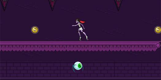 Игра Монстр Хай на роликах гонки для девочек - играть онлайн бесплатно