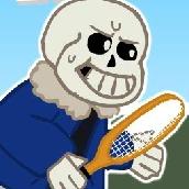 Игра Андертейл теннис