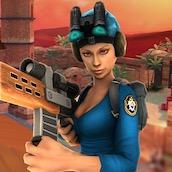 Игра Снайпер: столкновение 3Д