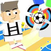 Игра Пни футбольный мячь