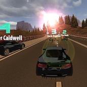 Игра Мощная гонка 3Д