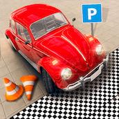 Игра Парковка: тест на вождение