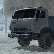 Игра Водитель в Тайге