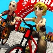 Игра Велосипед с препятствиями