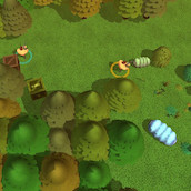 Игра Битва в лесу на двоих