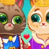 Игра Котик Бубу Знакомится с королем: Пазл