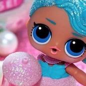 Игра Синеволосая кукла ЛОЛ: Пазл