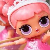 Игра Кукла ЛОЛ балерина: Пазл