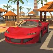 Игра Парковка Машин 3Д: Пляж