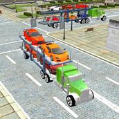 Игра Автомобильный трейлер