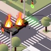 Игра Регулируем трафик машин