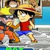 Игра Драка Наруто с героями аниме