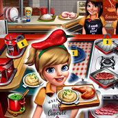 Игра Кафе: Готовим мясо