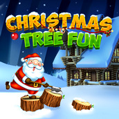 Игра Рубим елку на Новый Год