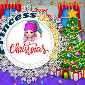 Игра Идеальное рождество принцесс