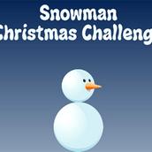 Игра Рождественский снеговик