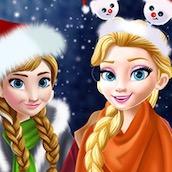 Игра Шоппинг с принцессами под Новый Год