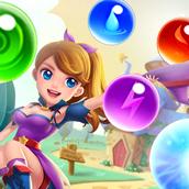 Игра Волшебная сага: стрелялка шариками