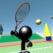 Игра Стикмен Теннис 3D