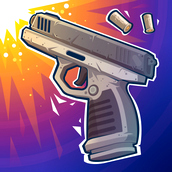 Игра Прыгающий пистолет