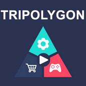 Игра Цветной треугольник