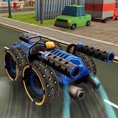 Игра Горячие гонки 3Д