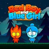 Игра Красный мальчик и синяя девочка