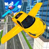 Игра Симулятор летающий машины 2