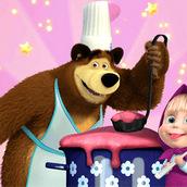 Игра Маша и Медведь на кухне