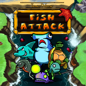 Игра Атака рыб
