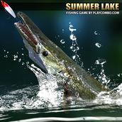 Игра Рыбалка на летнем озере