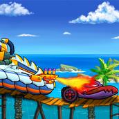 Игра Машина ест машину — Морские Приключения