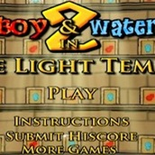 Игра Огонь и Вода 2 в Храме Света