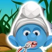 Игра Смурфики лечат зубы