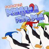 Игра Бег пингвинов за рыбой