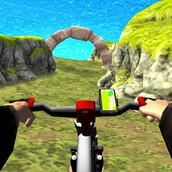 Игра Велогонки по холмам 3Д