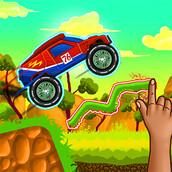 Игра Смастери дорогу для машины
